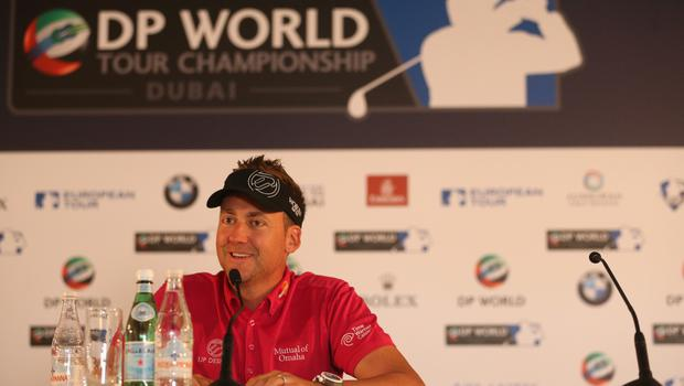 Ambition: Ian Poulter wants to be a Ryder Cup captain