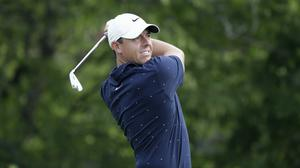 Rory McIlroy, made a poor start at the WGC FedEx St Jude Invitational in Memphis (Darron Cummings/AP)