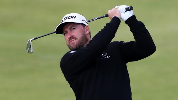 Graeme McDowell won the Saudi Invitational by two shots from defending champion Dustin Johnson (Niall Carson/PA)