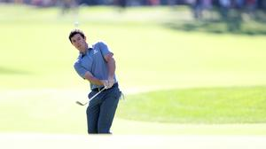 Rory McIlroy remained in contention on day three of the WGC-HSBC Champions in Shanghai