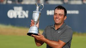 Former Open champion Francesco Molinari has moved to explain his absence from the game (Richard Sellers/PA)