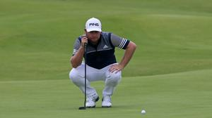 England's Tyrrell Hatton is among the leaders (Niall Carson/PA)