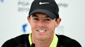 Rory McIlroy's Masters week began with a bang thanks to a hole-in-one