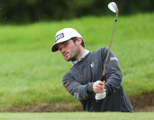 Back on course: Cormac Sharvin took last week off to refocus