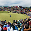 Classy venue: Royal County Down proved a great choice for the Irish Open