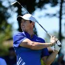 Defending champion: Rory McIlroy looking to become the first to win successive Irish Opens since 1993