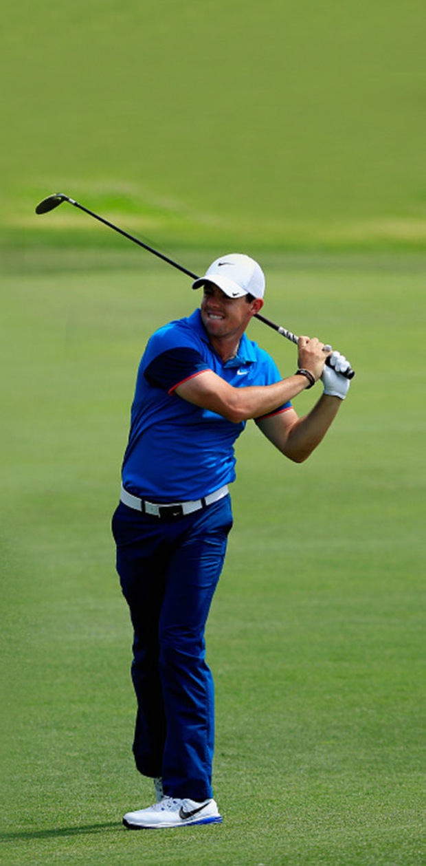 Big time: Rory McIlroy is on course to go down as a great