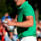 Glorious fortnight: Danny Willett became a father just before his Masters triumph