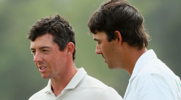 In mix: Rory McIlroy is ready to fire