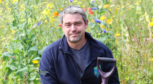 Chris Murray has been working at Clandeboye Estate's tree nursery for over four years