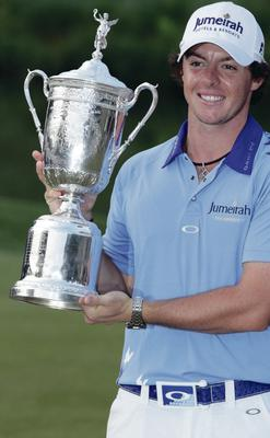 Lifts the US PGA crown in 2012