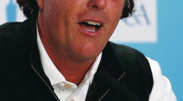 Tough times: Phil Mickelson admits he's had a difficult year