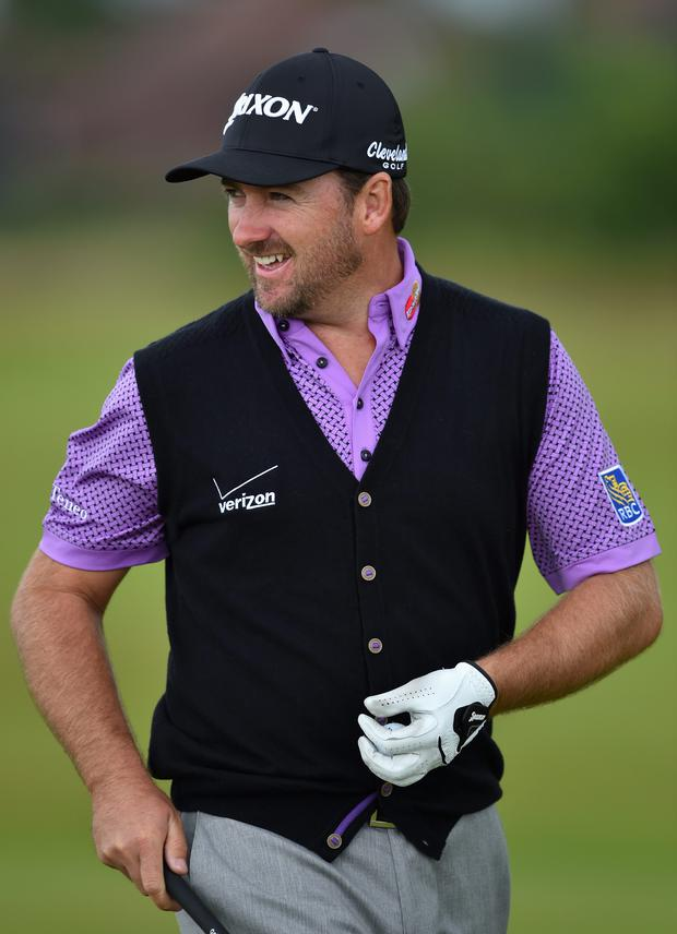 In form: Graeme McDowell feels in fine fettle before the US PGA