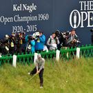Having it rough: Paul Dunne endured a final round 78