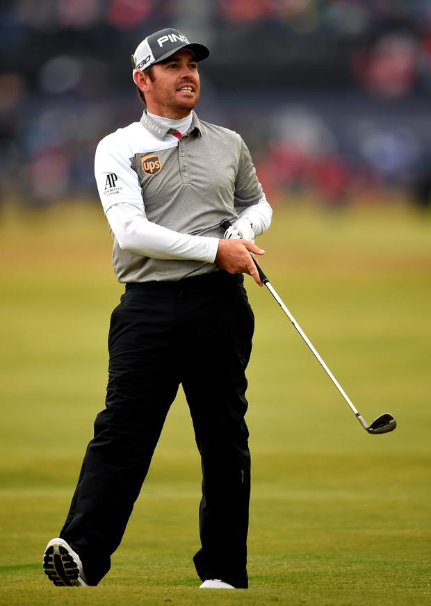 Silver medal: Louis Oosthuizen lost his second Major play-off