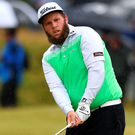 Bearded wonder: Andrew Johnston