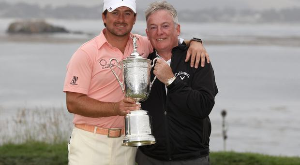 Father's Day: Graeme McDowell with dad Kenny at Pebble Beach