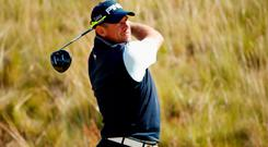 Still keen: Lee Westwood would play Chambers Bay again