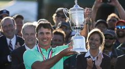 Major breakthrough: Brooks Koepka lifts the US Open title at Erin Hills