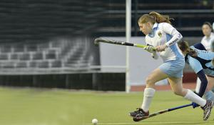 Doubling up: Katie Mullan believes there are many  similarities between hockey and camogie