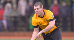 Action stations: Inst captain William Robinson expects his side to be faced with a busy midweek schedule in 2020