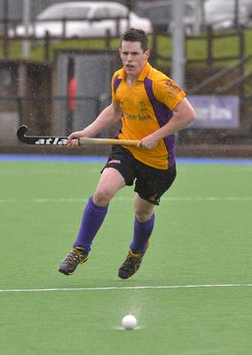 Hat-trick hero: Alan Patterson rattled in three goals for Inst