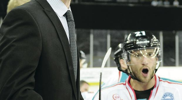 In with a shout: Steve Thornton is determined to retain the Elite League title