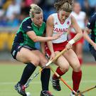 Olympic goal: Ireland skipper Megan Frazer has the 2016 Rio Games firmly in her sights