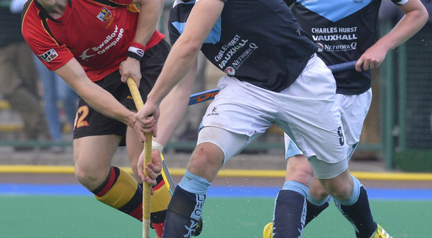 Elusive medal: IHL prize has always escaped Ulster's most-capped player Eugene Magee (left)