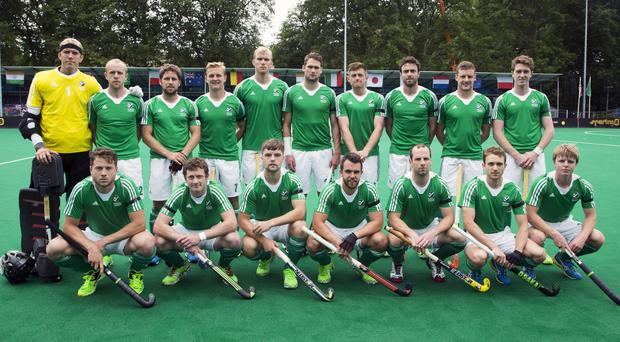 The Irish team awaiting the go-ahead for Rio