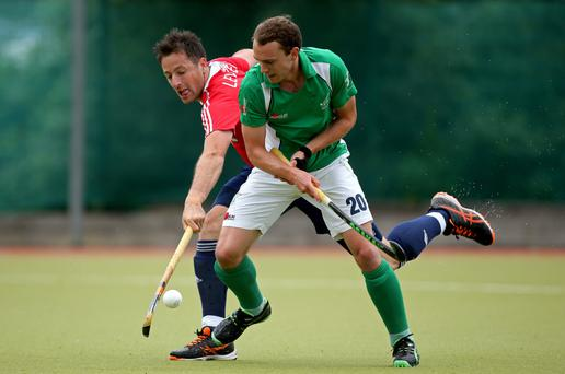 Medal match: Ireland's Mitch Darling will face Ulsterman Iain Lewers (England) again