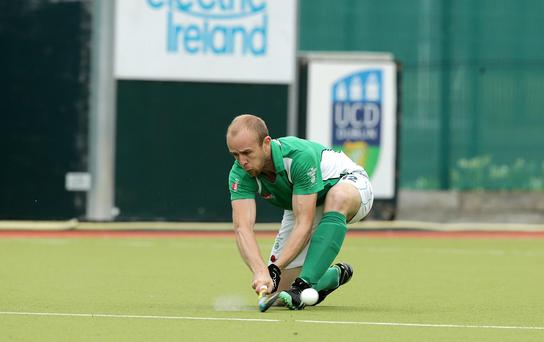 Busy man: Bann's Eugene Magee faces Garvey this weekend and dons the Irish shirt against Argentina next week