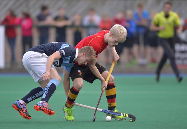 Rising stars: Garvey's Neal Glassey and Bann's Peter Brown hope to be in an IHL title fight
