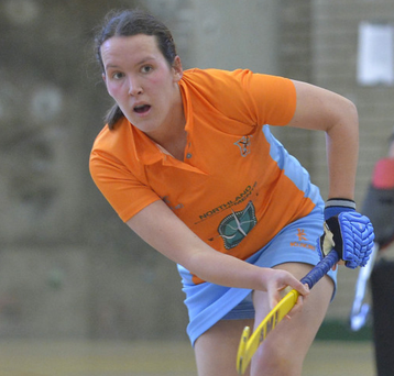 Proud captain: Caroline Adams praised her Ards team
