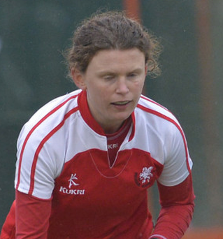 Ireland Under-16 girls assistant coach Alex Speers is in fine form for Pegasus