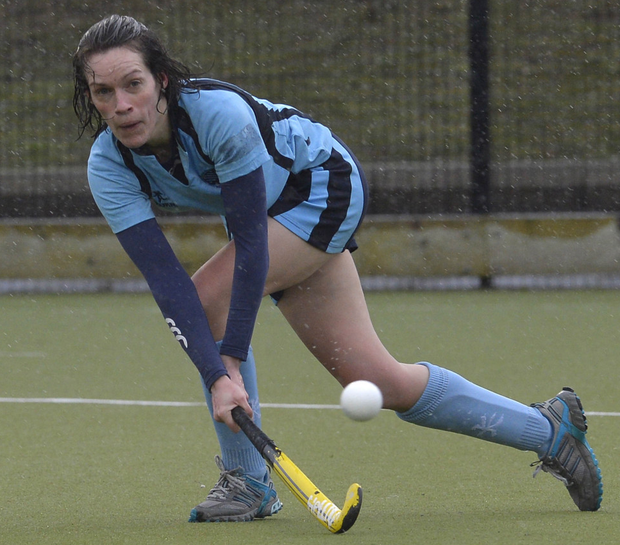 Looking ahead: Ballymoney captain Aine Kearney has mixed feelings about the club playing in the IHL