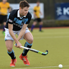 On the move: Michael Robson on his Lisnagarvey debut against Instonians last week
