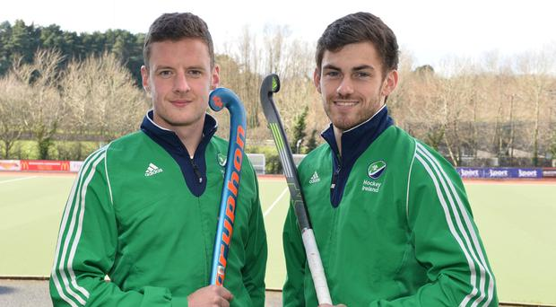 All ready: Ulster duo Jonathan Bell and Matthew Bell