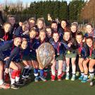 Graduation day: Queen's celebrate Ulster Shield win