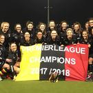 Three in a row: Lurgan girls celebrate their third successive Ulster title