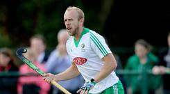 Most capped: Eugene Magee can add to his tally in India