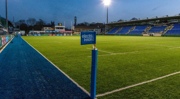 Donnybrook stadium in Dublin