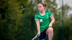 New milestone: Ireland's most capped player Shirley McCay