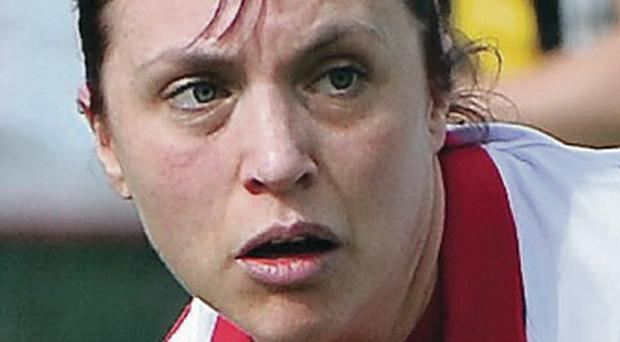 Pamela Glass made an unexpected return to the Pegasus side in Saturday's 5-1 Irish Senior Cup quarter-final win over UCC at Upper Malone after announcing her retirement from first-team hockey at the end of last season.