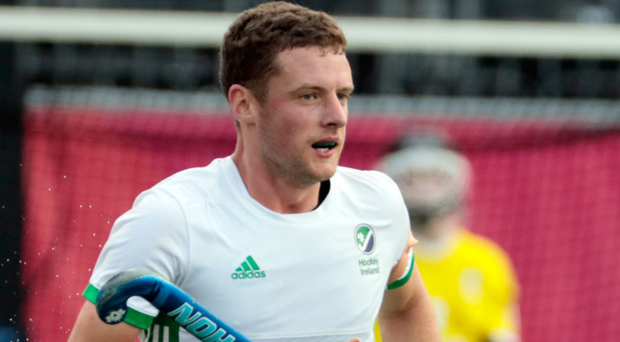Ireland captain Jonny Bell was understandably a frustrated figure after the heartbreaking end to his side's Olympic bid.