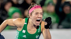 What a feeling: Bethany Barr celebrates qualification