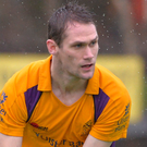 Returning hero: Paul Gleghorne playing for Instonians in 2014