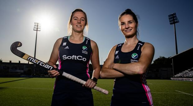 All set: Megan Frazer (left) and Emily Beatty are counting down to Canadian battles