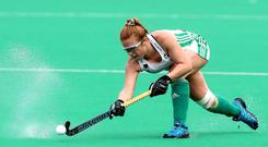 Olympics bound: Zoe Wilson played through the pain barrier against Canada