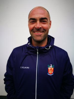Under-strength: Wallace coach Gareth Kidd